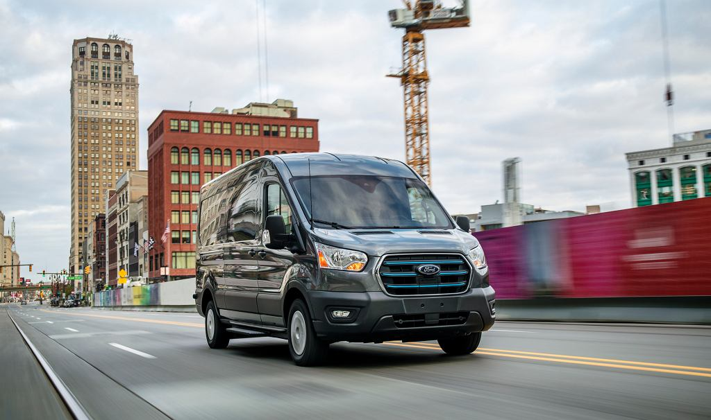 Nowy Ford E-Transit