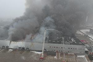 Pożar na Białołęce dotknął też budynki T-Mobile. Sieć ostrzega klientów: będą utrudnienia