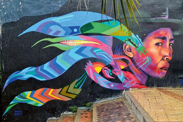 Graffiti, Bogota, Kolumbia