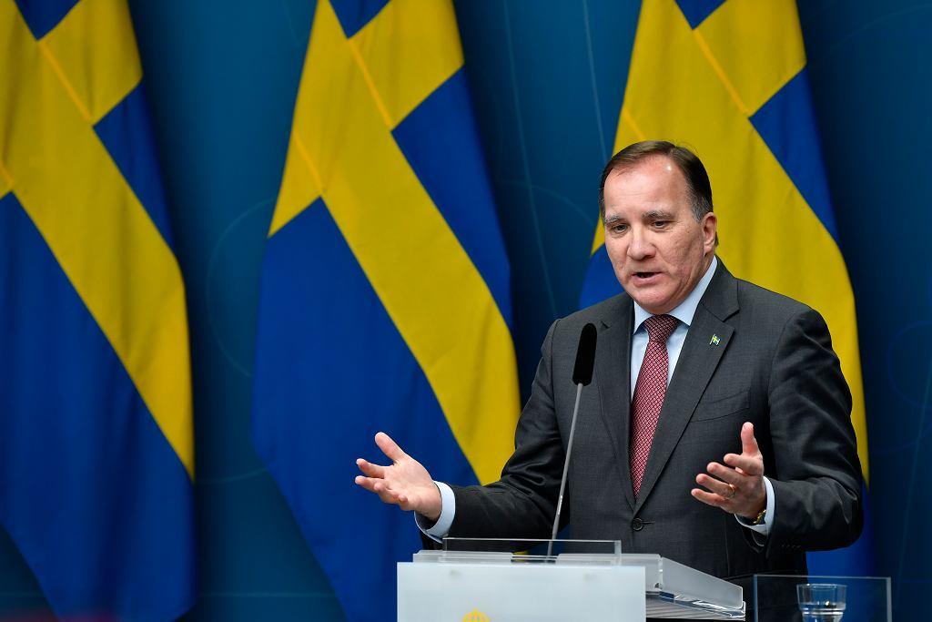 Szwecja. Premier Stefan Lofven.