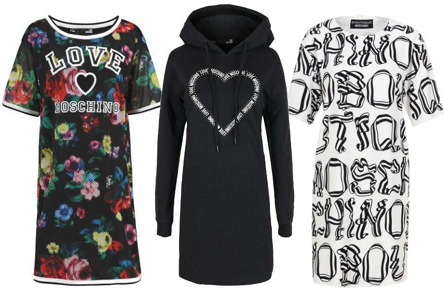 Kolaż / Sukienki Moschino