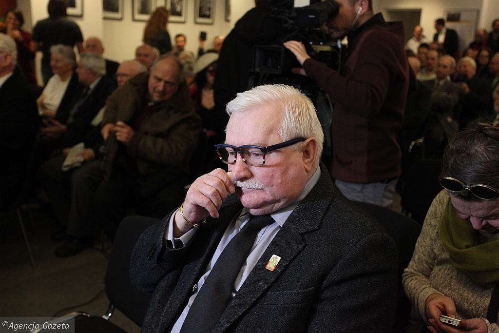 Były prezydent Lech Wałęsa (fot. Sławomir Kamiński/AG)