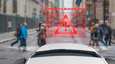 Od 2022 r. wszystkie nowe auta w Europie będą obowiązkowo wyposażane w urządzenia do automatycznego awaryjnego hamowania (EBA)
