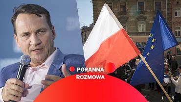 Radosław Sikorski gościem Porannej Rozmowy Gazeta.pl