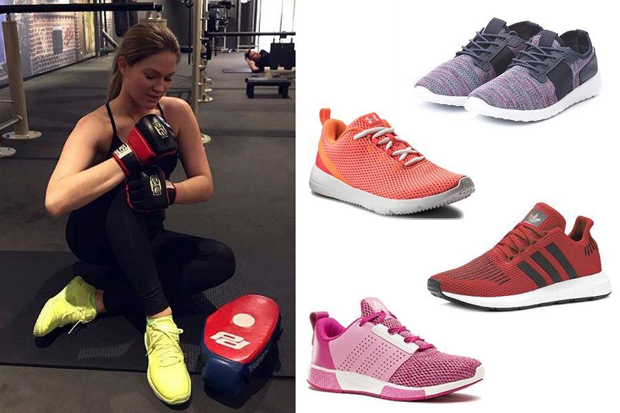 damskie buty sportowe / mat. partnera