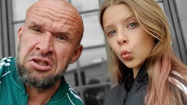Tomasz Oświeciński pracuje z córką na planie. Martwi się i drży o jej los. 'Gdzie jest granica?'