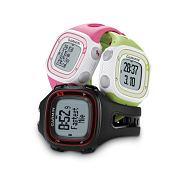 Zegarek Garmin Forerunner 10 jest dostępny w trzech kolorach: zielonym, różowym i czarnym. Cena: ok. 535 zł, garmin, bieganie, zegarki, Czas start! Zegarek dla biegaczy