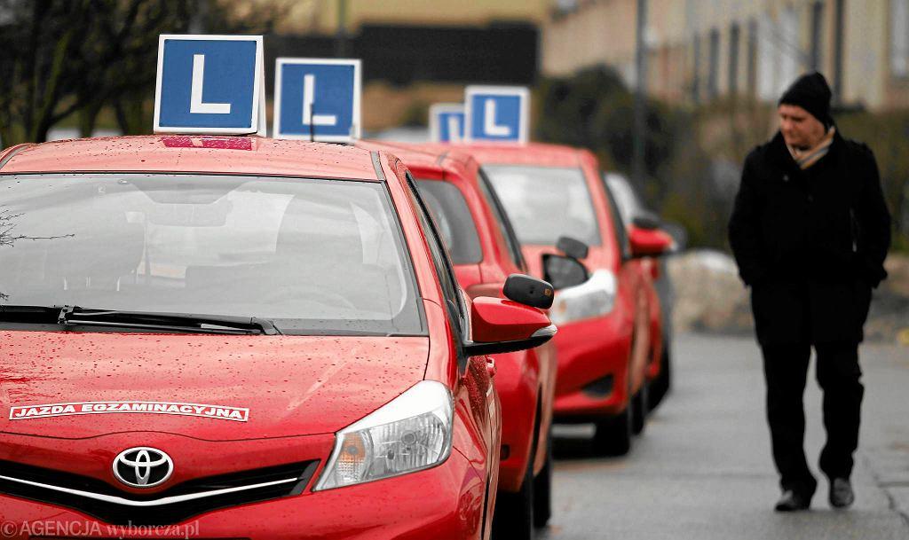 Egzaminy na prawo jazdy (zdjęcie ilustracyjne)