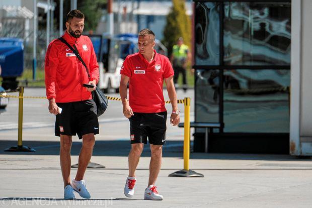 Zdjęcie numer 12 w galerii - W drodze na mundial. Piłkarze reprezentacji Polski lecą z Jasionki na mecz towarzyski z Chile [ZDJĘCIA]