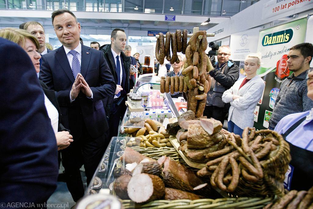 Prezydent Andrzej Duda podczas Międzynarodowych Targów Poznańskich
