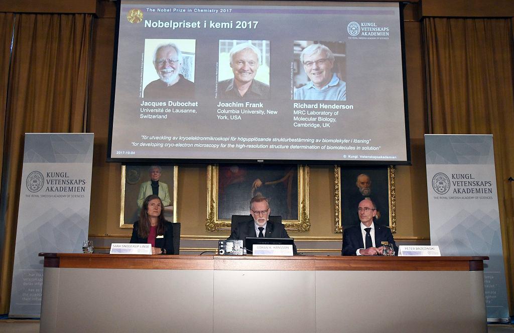 Nobel z chemii przyznany