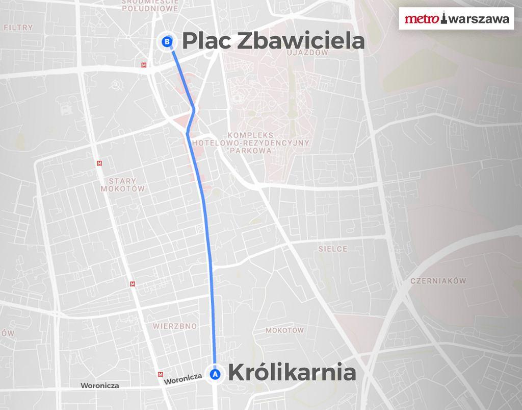 Remont na ul. Puławskiej - utrudnienia, zmiany w ruchu