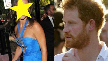 Pippa Middleton i książę Harry