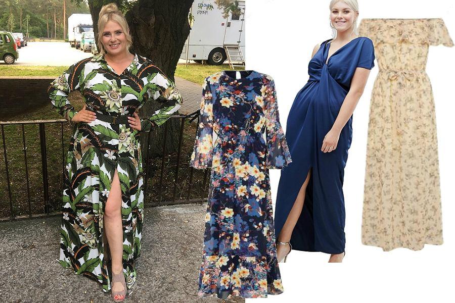 Sukienki maxi plus size