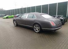 Bentley wart dwa miliony zł został skradziony w Niemczech. Policja znalazła go na warszawskim Bemowie