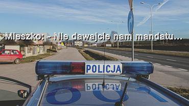 Jelenia Góra: policja zatrzymała samochód. 4-latek prosił, by nie dawali mandatu