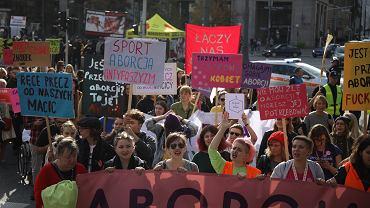 28.09.2019, Warszawa. II marsz pro-choice z okazji Dnia Bezpiecznej Aborcji