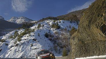 Robert Kubica podczas Rajdu Monte Carlo