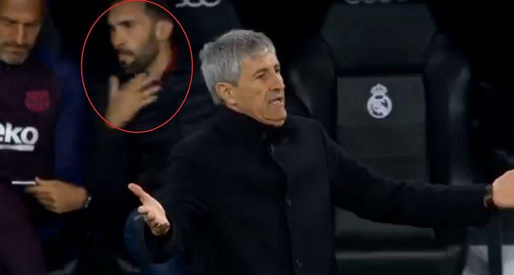 Piłkarze Barcelony niezadowoleni z asystenta trenera. Przeklinał w ich stronę