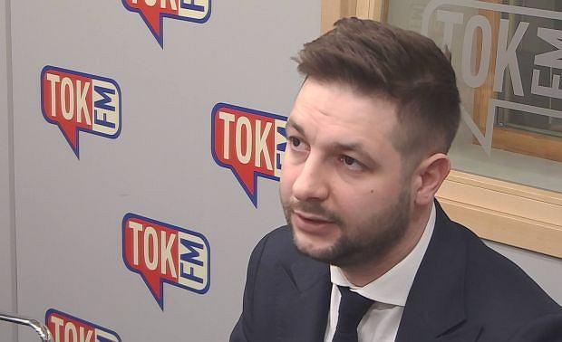 Wiceminister sprawiedliwości Patryk Jaki w Poranku Radia TOK FM