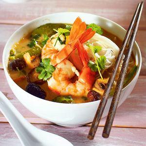 Kuchnie świata: zupa tajska