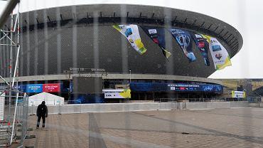 Intel Extreme Masters 2020 - jeszcze przed rządowym zakazem, wojewoda zabronił udziału publiczności w imprezie (z powodu epidemia koronawirusa). Rozgrywki Counter - Strike w Spodku odbyly sie przy pustych trybunach. Katowice, 28 lutego 2020