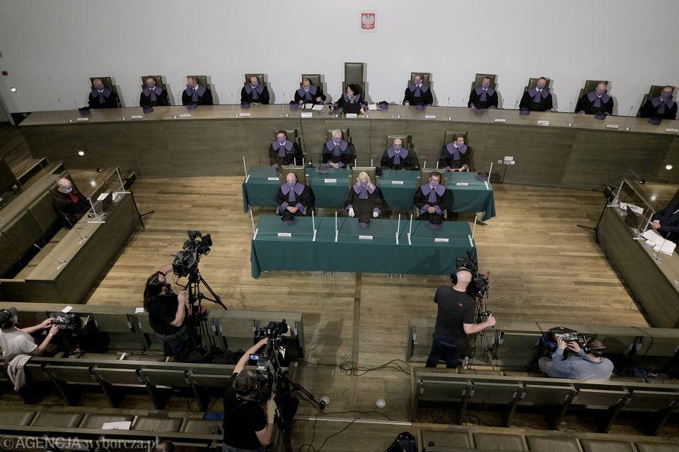 Posiedzenie Sądu Najwyższego.