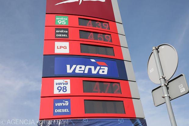 Niskie ceny benzyny w Warszawie