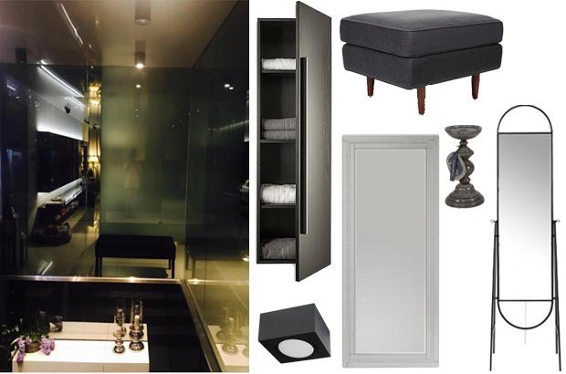 Małgorzata Rozenek - łazienka - dom - stylizacja