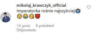 Komentarz Mikołaja Krawczyka