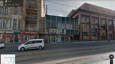 Ul. Głogowska. Budynek po Horteksie