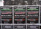 """Wszechpolak w Tczewie walczy o """"czyste powietrze i zdrowy naród"""". Palenie węglem mu jednak nie przeszkadza"""
