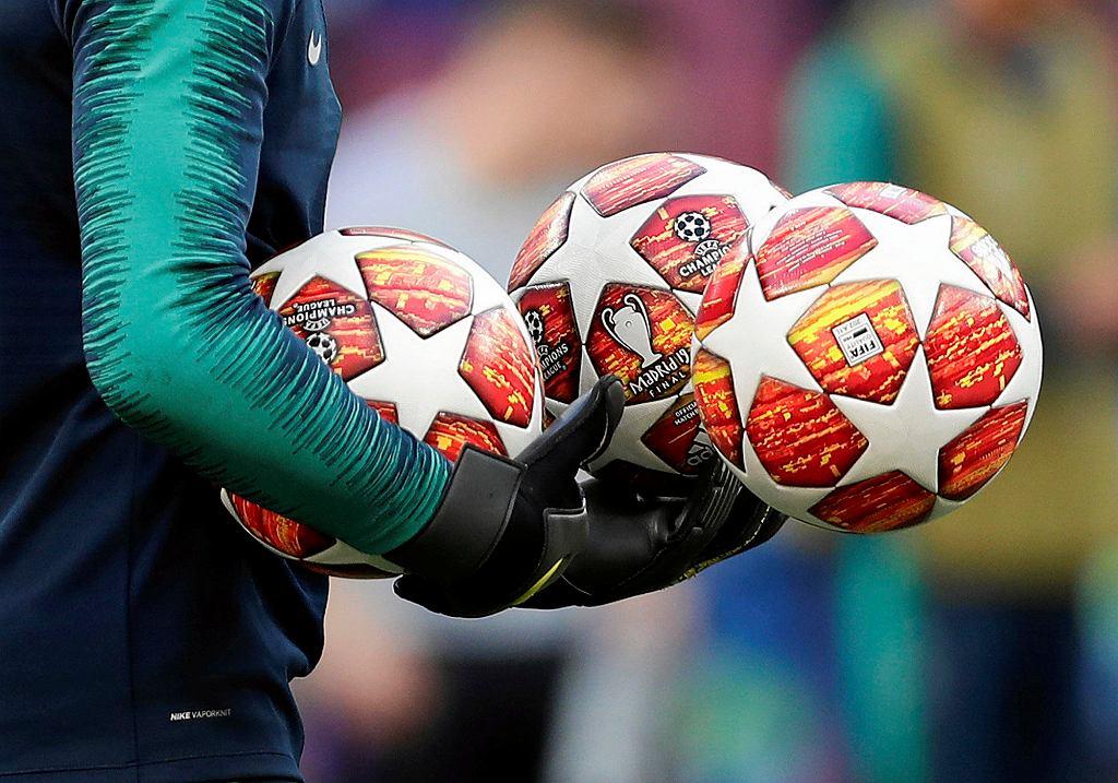 Oficjalne piłki Ligi Mistrzów