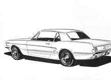 Nie żyje Gale Halderman, projektant pierwszego Forda Mustanga