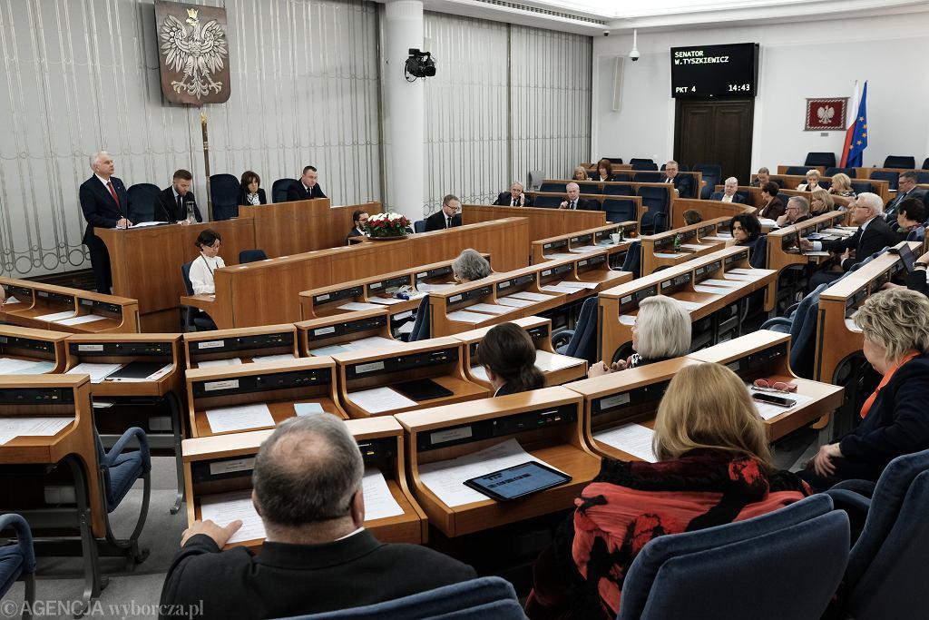 27 luty 2020 r. Debata w Senacie ws. koronawirusa
