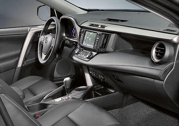 samochody, testy, Testujemy nową Toyotę RAV4, Toyota RAV4