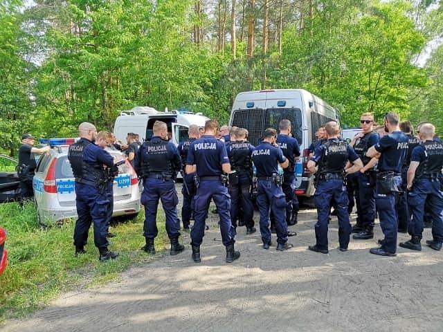 Policja i straż pożarna poszukują zaginionej Marty Szymańskiej z Leszna