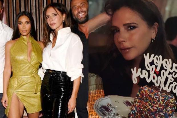 Victoria Beckham 17 kwietnia obchodziła swoje 47. urodziny. Z tej okazji pokazała kilka ujęć z imprezy, na której towarzyszyli jej m.in. mąż David i Kim Kardashian.