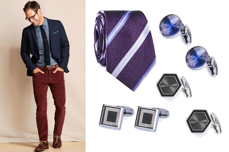 Prezenty na Dzień Ojca - krawaty i spinki
