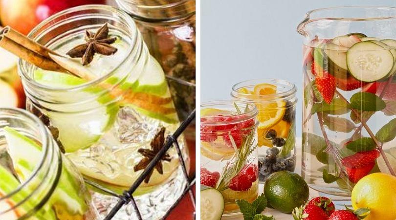 Smak wody bardzo łatwo można zmienić dodając do niej owoce lub zioła
