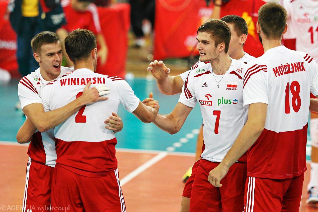 Mistrzostwa świata w siatkówce 2014. Mecz Polska - Włochy w Atlas Areniea