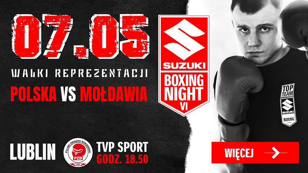 Suzuki Boxing Night VI - Polska vs Mołdawia