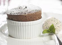 Suflet czekoladowy z lodami - ugotuj