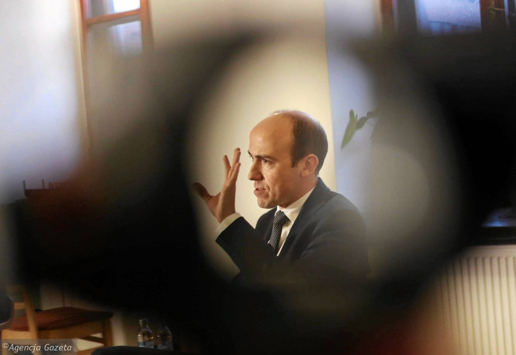 Borys Budka, poseł PO i b.minister sprawiedliwości