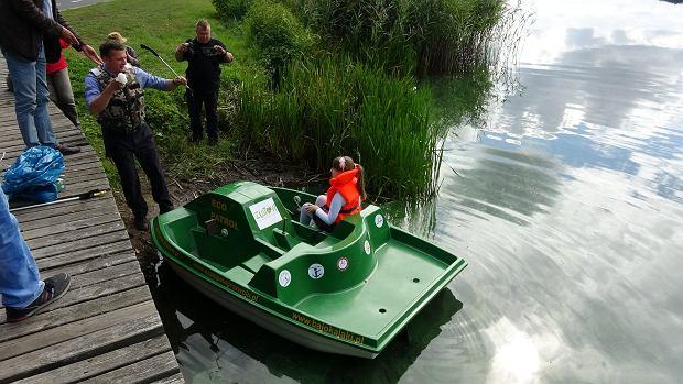 Rower wodnego Eko Patrolu w Złotowie