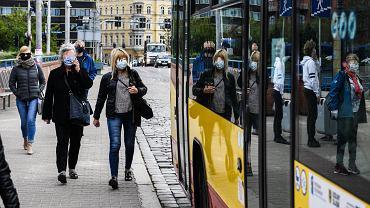 Autobus wrocławskiego MPK