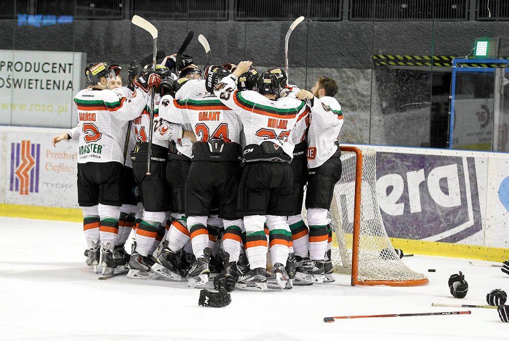 Hokeiści GKS Tychy trzeci kolejny rok zagrają w finale mistrzostw Polski