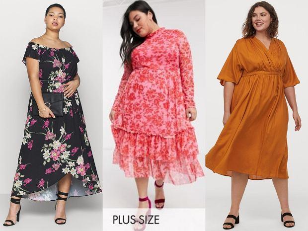 Sukienki plus size z wyprzedaży