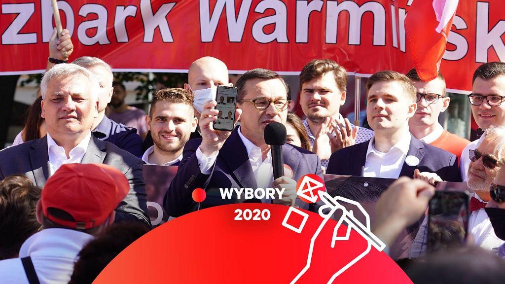 Premier Mateusz Morawiecki w Olsztynie