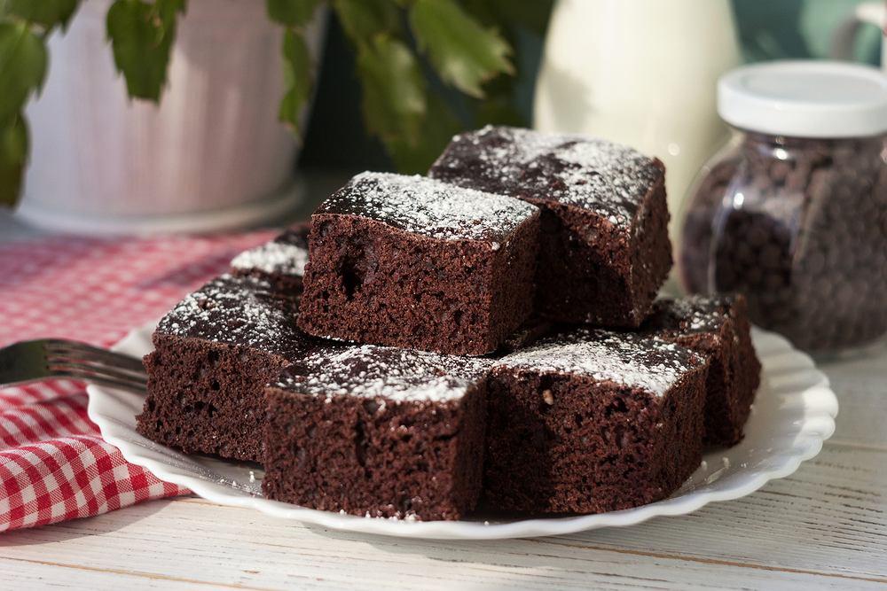 'Jednomiskowe' ciasto czekoladowe